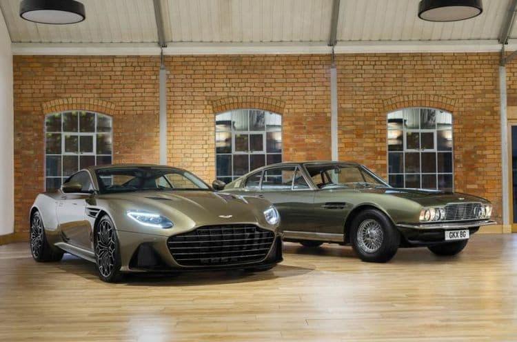 Aston Martin представил автомобиль Джеймса Бонда