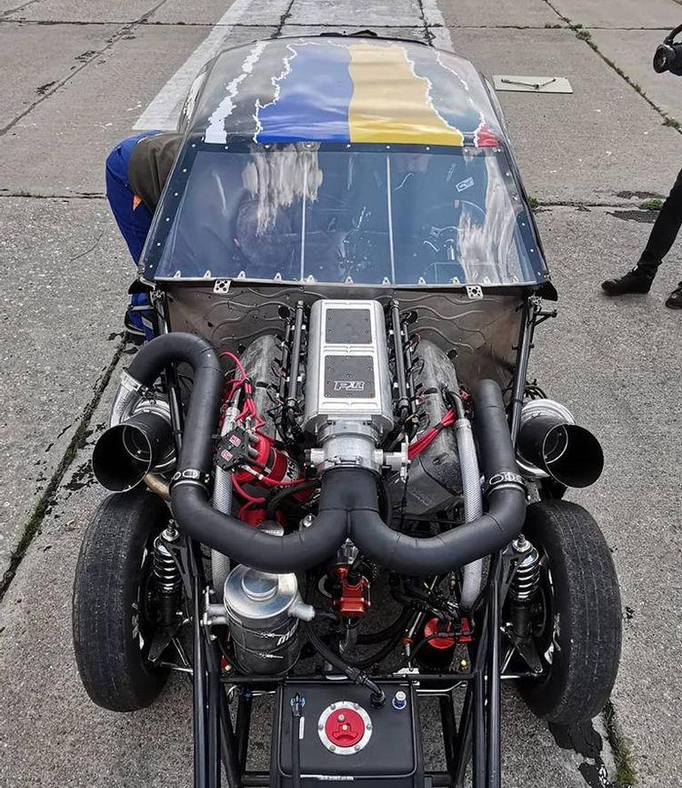 Как выглядит самый быстрый автомобиль Украины под названием Характерник