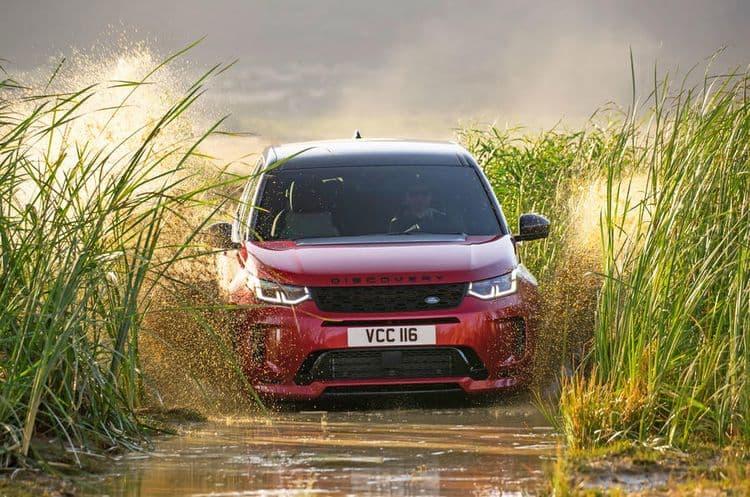 Культовый Land Rover обрел новые технологии