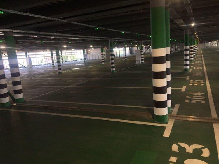Лед тронулся: построен первый огромный паркинг