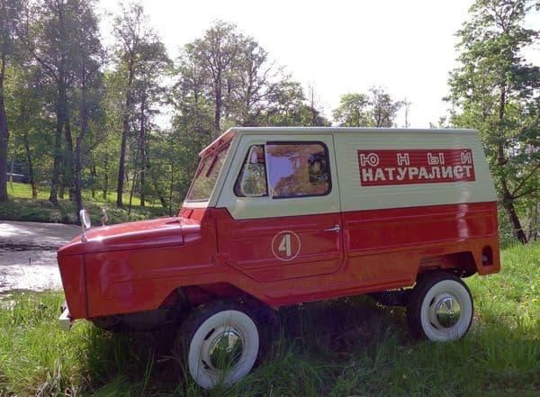 Найден уникальный переднеприводный фургон ЛуАЗ-969Ф