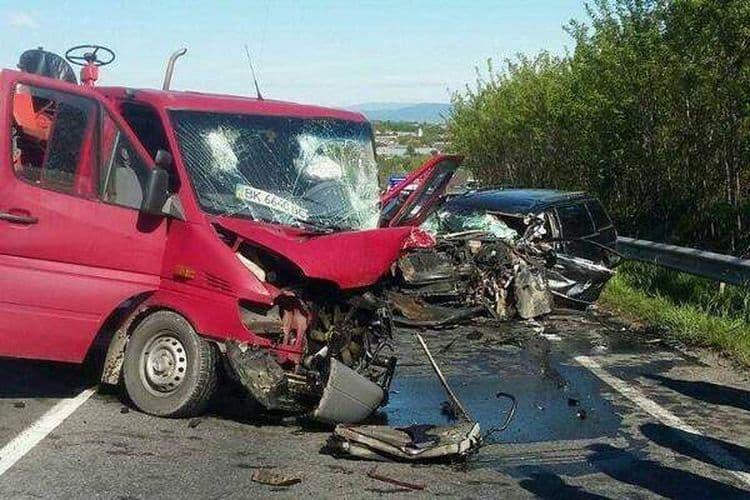 Названа самая опасная дорога Украины