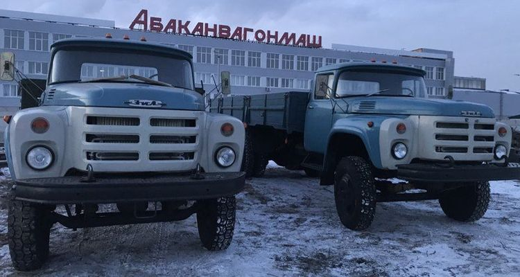 Партия новеньких ЗИЛ-133 выставлена на продажу