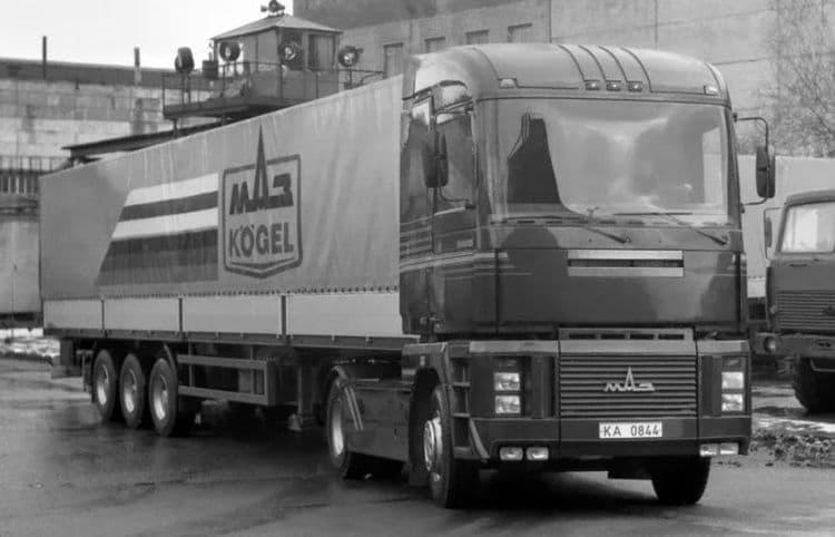 Renault Magnum против МАЗ-5445 – кто кого опередил