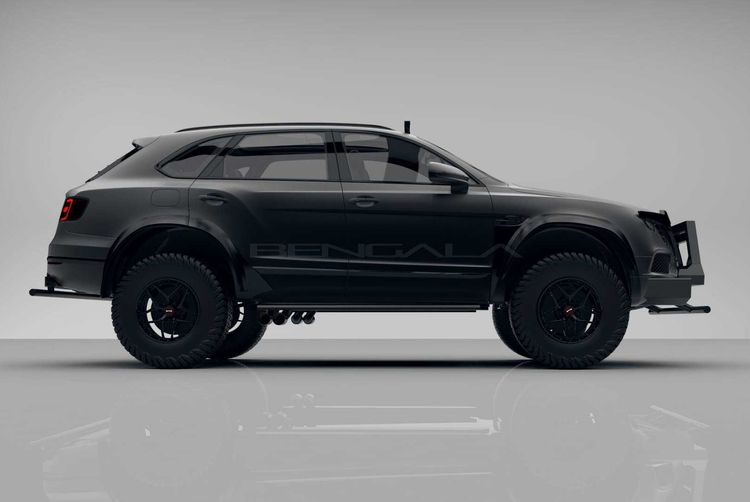Самый безумный тюнинг Bentley Bentayga для украинских дорог