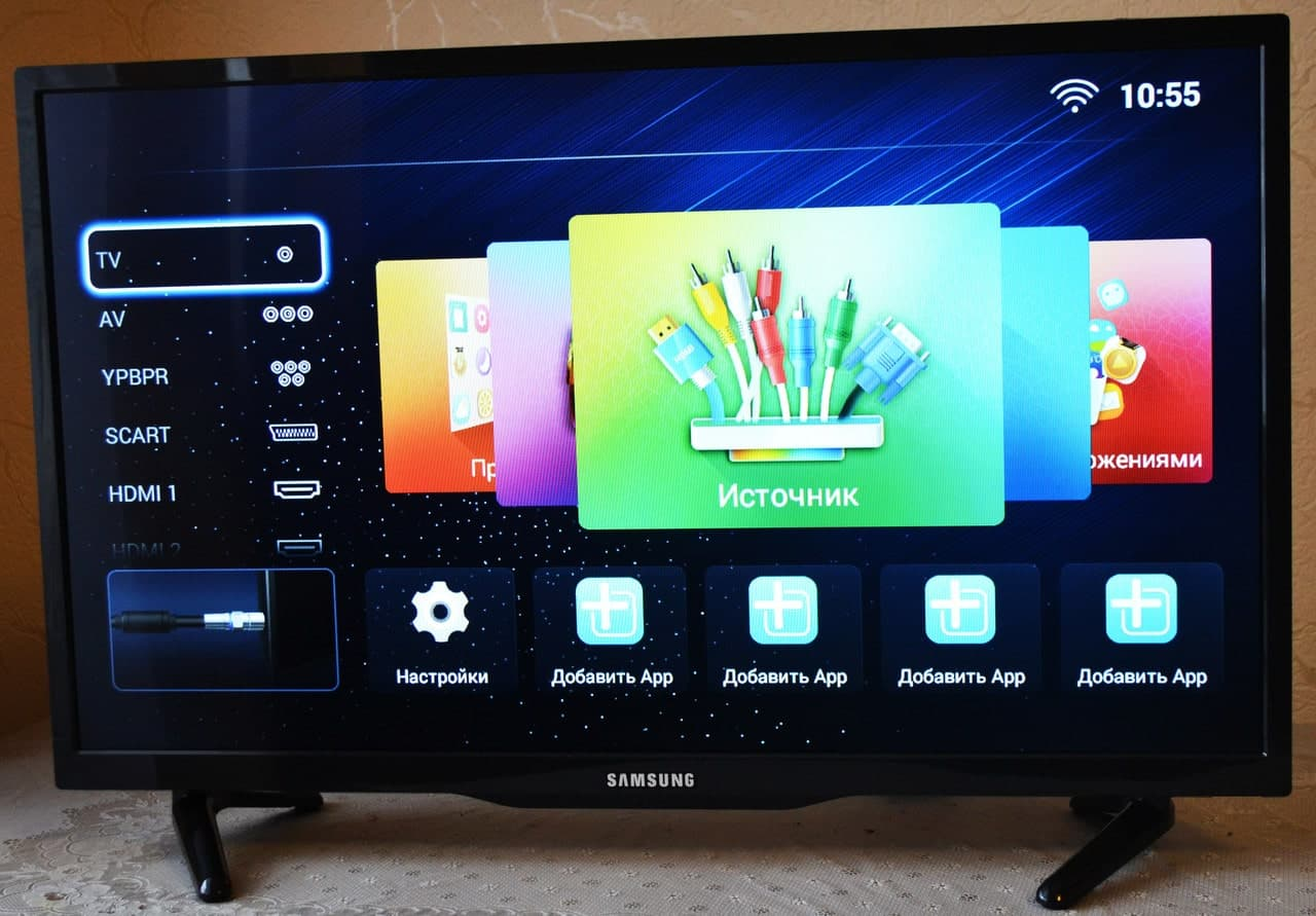 Телевизоры Samsung Smart-TV