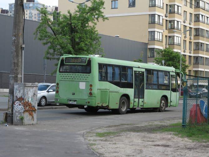 В Украине замечен редкий китайский автобус