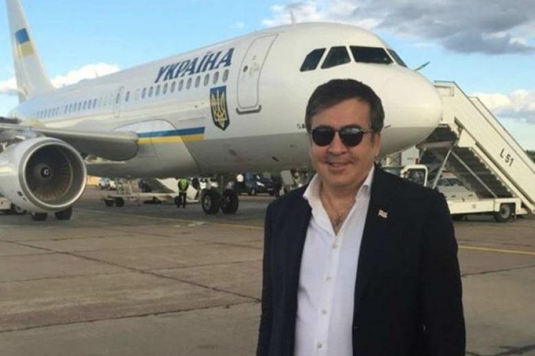 Возвращение Саакашвили в Украину - онлайн-трансляция