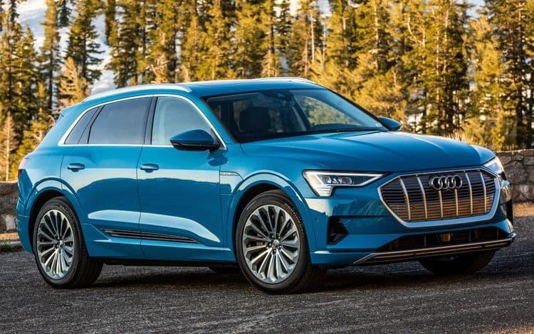 Электромобиль Audi e-tron отзывают из-за риска возгорания