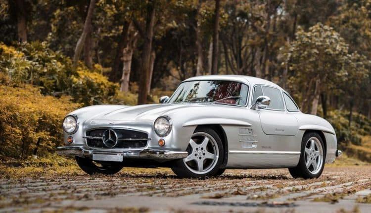 Mercedes-Benz 300SL 1956 года выпуска ушел с молотка за рекордную сумму