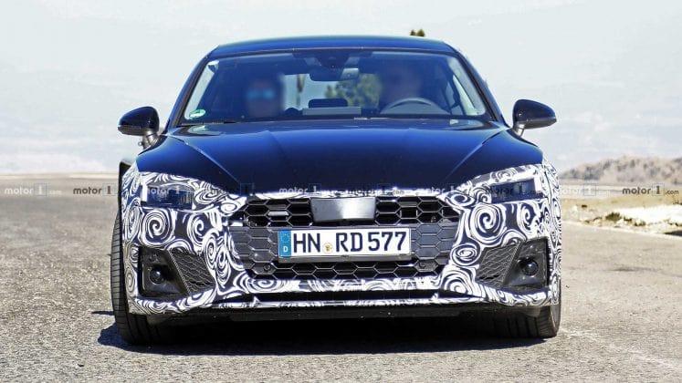 Новая Audi A5 Sportback Spy попалась фотошпионам