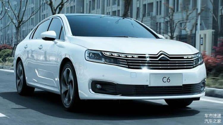 Новый седан Citroen C6 обзавелся ценником в юанях