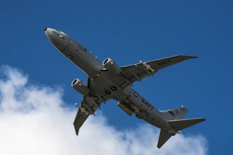 Патрульный самолет США Poseidon провел разведку у побережья оккупированного Крыма