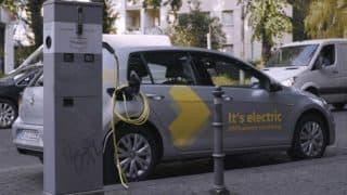 Volkswagen запускает сервис обмена электромобилей Volkswagen WeShare