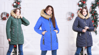 Модные зимние куртки по низким ценам