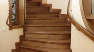 Деревянные лестницы под заказ в Украине