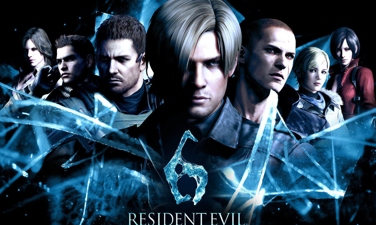biohazard 6, leon scott kennedy, resident evil 6, jake muller, chris redfield, resident evil