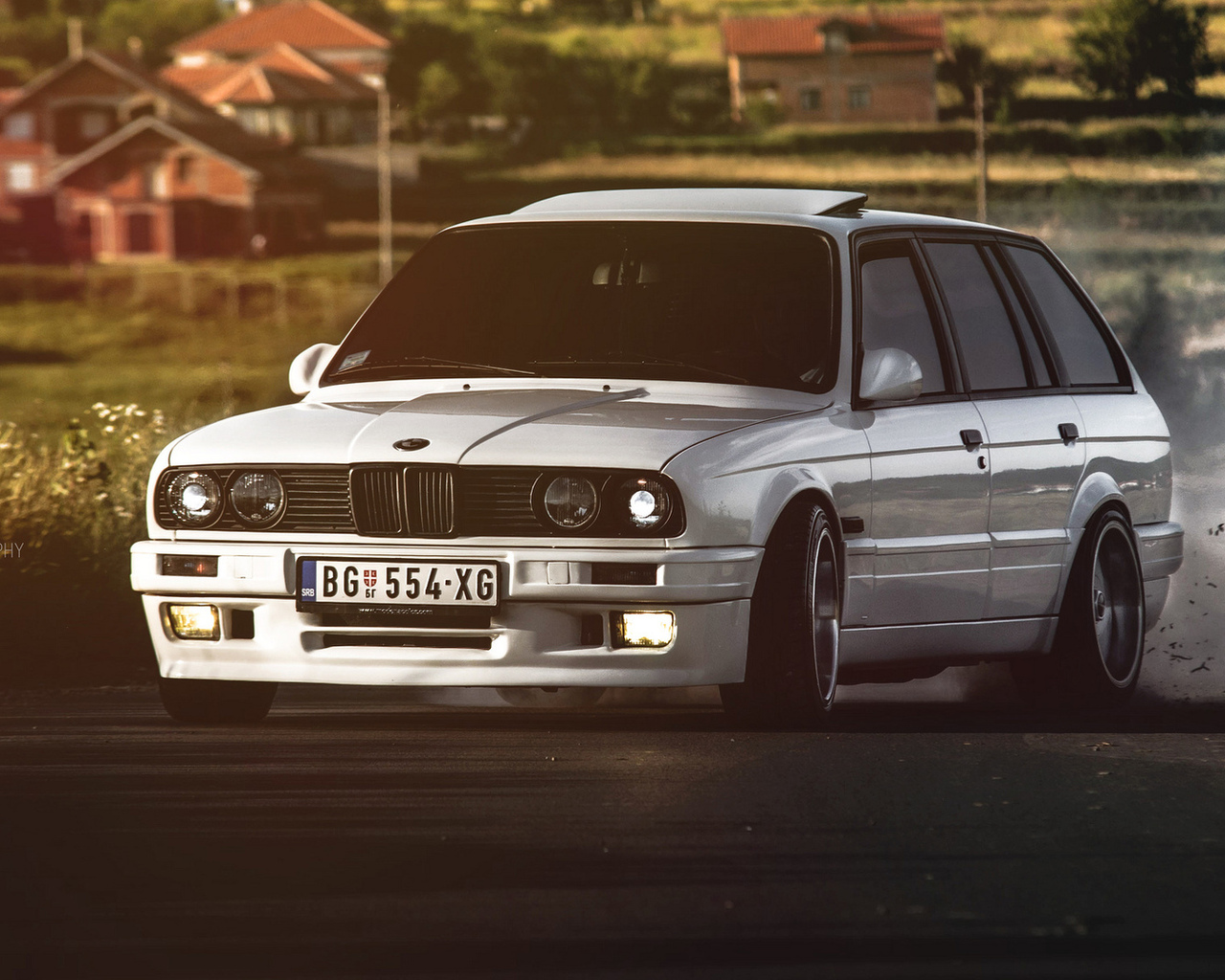 бмв, 325, bmw, e30, drift, белая, 3 серия, универсал