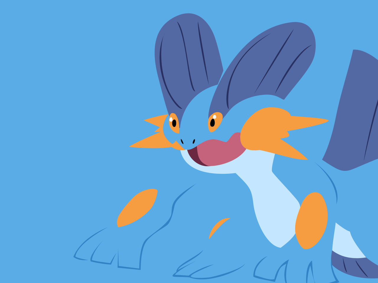 swampert, pokemon
