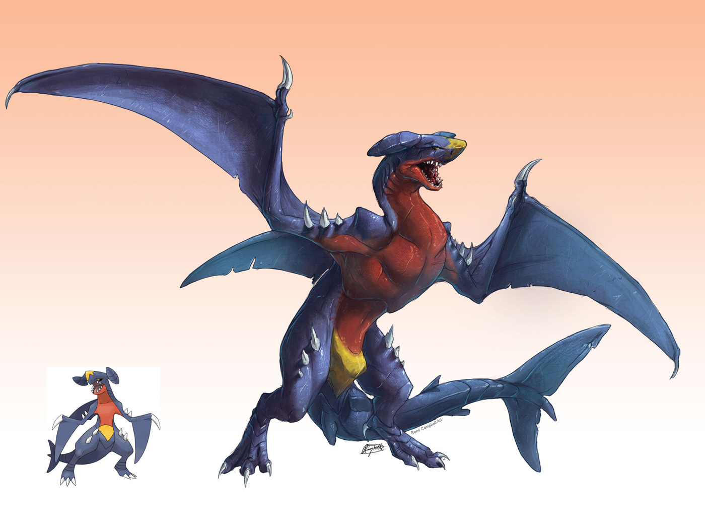 pokemon, garchomp