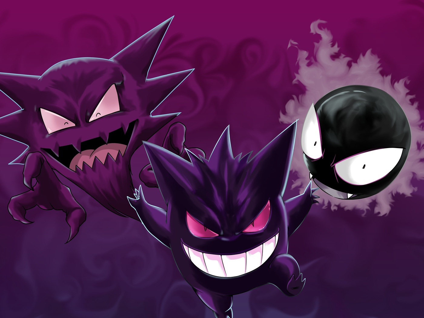pokemon, gastly