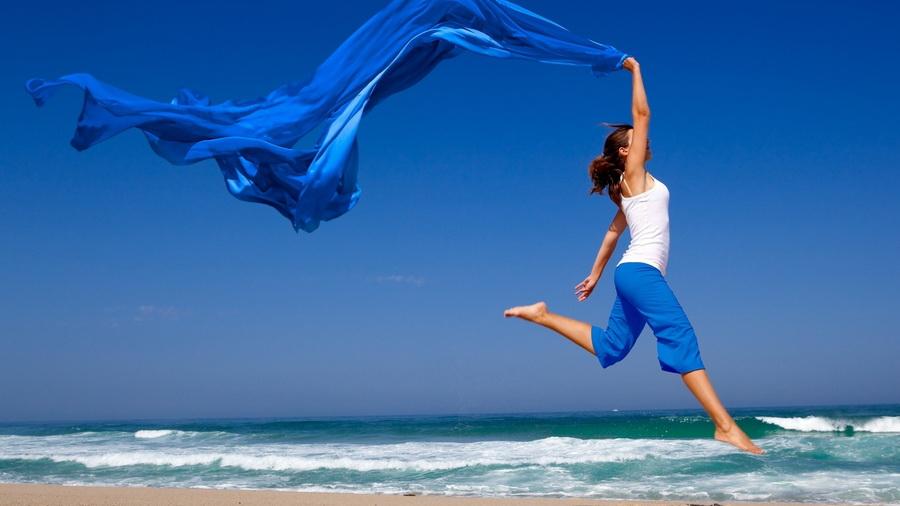 Znalezione obrazy dla zapytania прыжок радость