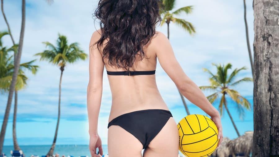 фото девушек волейболисток брюнеток