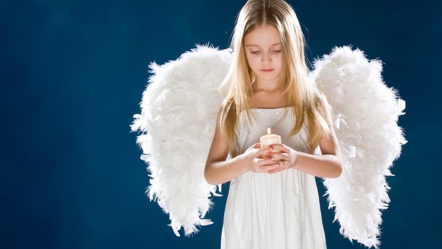 Фото детей с крыльями ангела