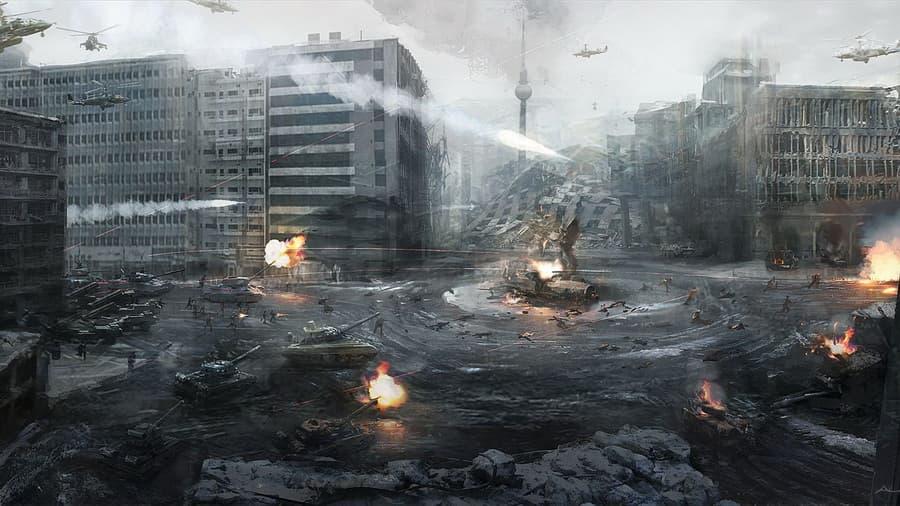 Картинки на рабочий стол зима танки