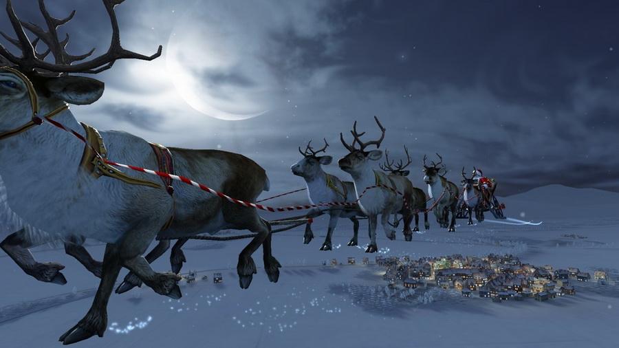 Картинки рабочего стола зима рождество
