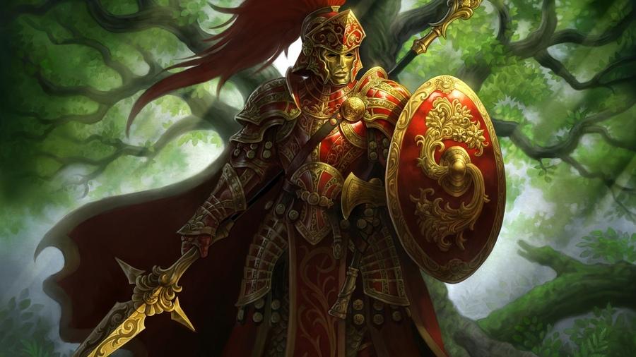 картинки фэнтези воинов