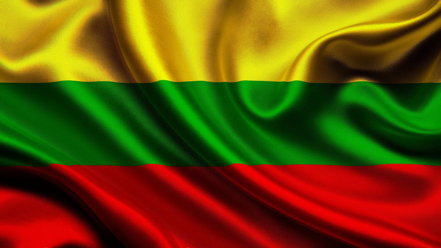 Desktop Calendar Download : Обои Флаг Литвы Литовский флаг Литовской