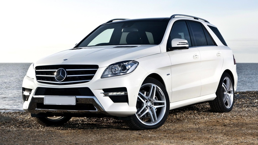 Фото обои bluetec, amg, benz, sportpackage, 2012, wallpapers, beautiful, new, white, car, mercedes, ml350 для всех разрешений монитора