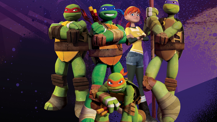 Фото обои donatello, teenage mutant ninja turtles, leonardo, michelangelo, ninja turtles, nickelodeon, tmnt для всех разрешений монитора