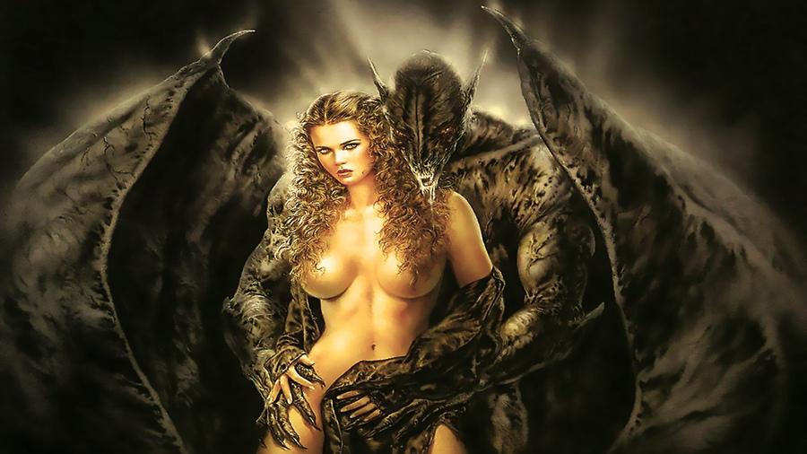 Pinch erotic fantasy art print pandora young