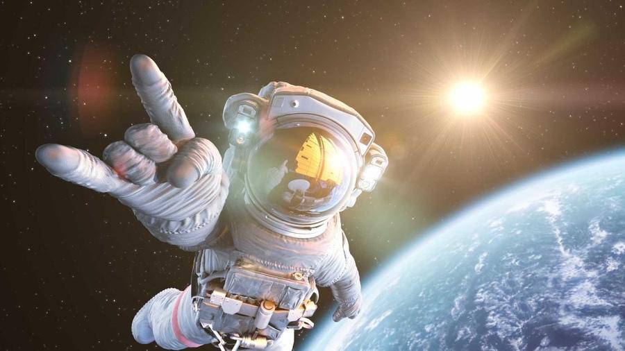 Прикольный картинки про космос, анимация друг
