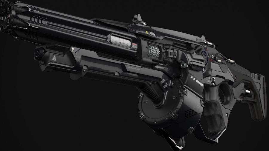 Картинки фантастические оружия
