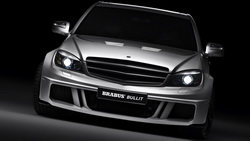 авто обои, мерседес, обои с машинами, brabus, Mercedes, car wallpapers, auto walls, free pictures, тачки, брабус, фары ...