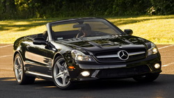 мерседес, тачки, widescreen walls, cars pictures, auto wallpapers, road, обои с машинами, мерин, trees, машины, дорога, Mercedes sl ...