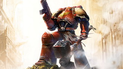 dawn of war, space marine, оружие, Warhammer