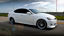 is350, auto wallpapers, Машины, lexus, cars, дорога, sedan, walls, clouds, road, is class, облака, авто обои, white, лексус ...