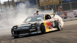 drift, mad mike, wallpapers, автомобиль, обоя, drift, mazda, Car, rx7, redbull ...