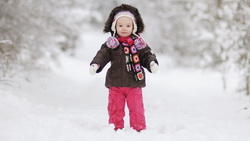 Little girl , winter, lonely, joy, cute, beautiful, children, lovely, child, happiness, elegant ...