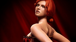 triss merigold, The witcher 2 assassins of kings, рыжая, трисс меригольд