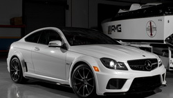 black, series, garage, tuning, benz, car, mercedes, black, white, wallpapers, amg, Auto, and ...