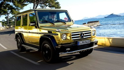 2012, automobile, g500, Car, mercedes, gold, benz, festival de canne, wallpapers ...