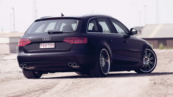 вид с зади, audi, wallpapers audi, a4, cars walls, wallpapers auto, Audi a4