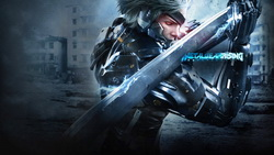 ниндзя, metal gear, rising, raiden, киборг, Metal gear rising revengeance