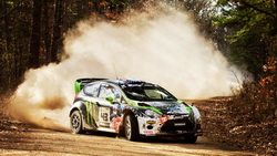 2012, wrc, ford fiesta, showdown, камни, ралли, Dirt, дрифт