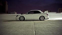 parking, cars, subaru impreza, sti, impreza, tuning cars, Auto, wallpapers city, city ...